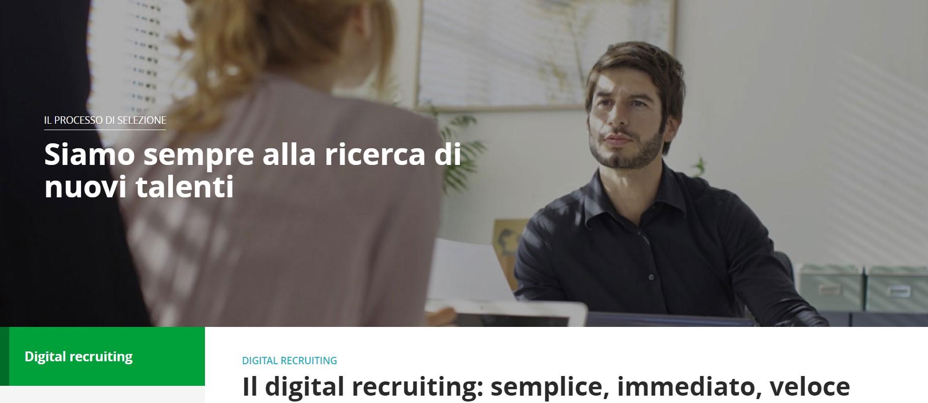 Pagina Digital Recruiting Findomestic