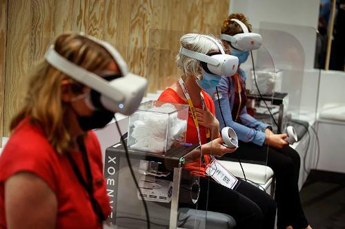 Realtà Virtuale VivaTech BNP Paribas