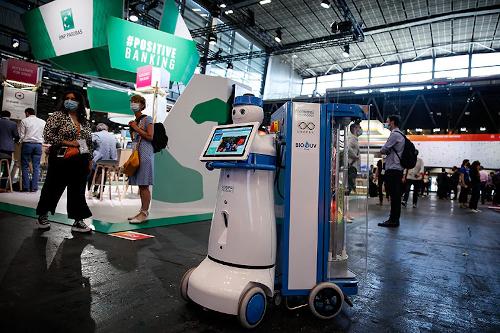 Robot VivaTech BNP Paribas